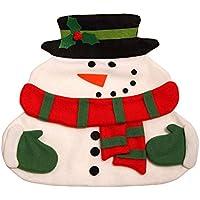 Regali di Natale Candian doppio tovagliolo bianco contenente