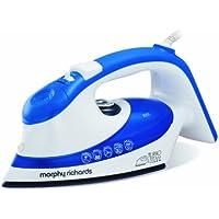 Morphy Richards TurboSteam 300601 Ionic Soleplate, 350 ml, 2000 Watt - Iron Blue