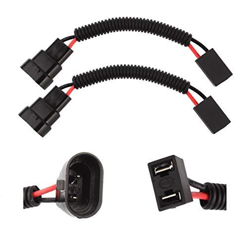TOMALL 9005 9006 zu H7 LED Scheinwerfer Nachrüstung Kabelbaum Stecker Buchse Adapter 12 cm (5 inch)