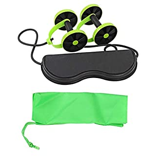 VGEBY Ab Wheel Roller, Abdominal Muscle Wheel Exerciser Ab Carver for Fitness Workout Gym