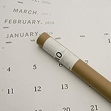 Pared Calendario 2018(A0) de octàgon Diseño