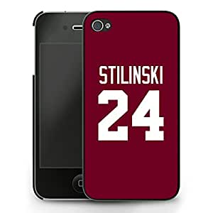 Teen Wolf Stiles Stilinski 24 Lacrosse Jersey iPhone 5/5s Case - Noir