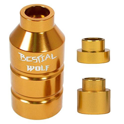 BESTIAL WOLF Peg estribera, Gold, Einheitsgröße