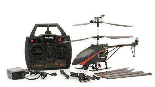 ACME - zoopa 300 Movie Helikopter | 2,4GHz Funktechnik | 3+2-Kanal | eingebaute mini Kamera ECO V2 (AA0300)