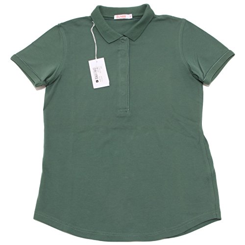 7884O polo donna SUN68 verde manica corta t-shirt sleeveless woman [M]
