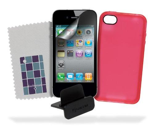 Griffin BASICS TPU Case für iPhone 4S (Smoke) Smoke Grey rose