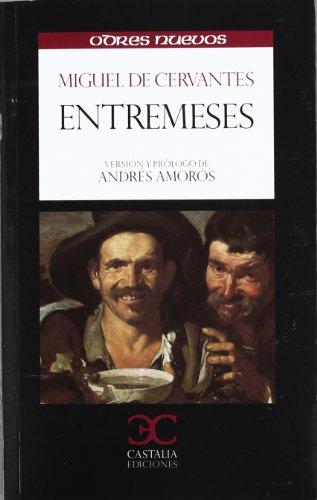 Portada del libro Entremeses (ODRES NUEVOS,  O/N. (nuevo formato))