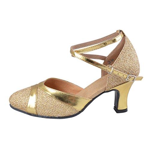 donna scarpe da ballo latino per gli adulti/Comunicazione Fellowship square dance shoes B