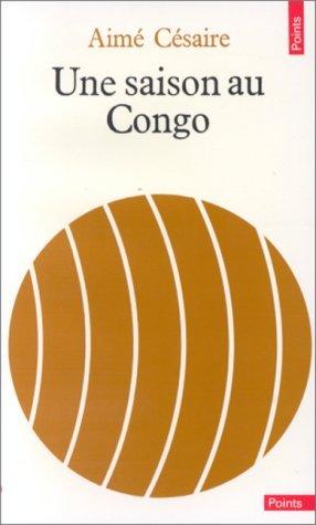Portada del libro Une saison au Congo