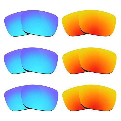 Revant Ersatzlinsen für Spy Optic Helm Polarisiert 6 Paar Kombipack K029