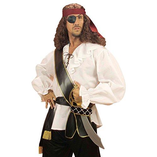 Piraten Schwerthalter Schwertgürtel Schwert Gürtel Krieger Waffengürtel Seeräuber Schärpe Mittelalter (Piraten Schärpe)