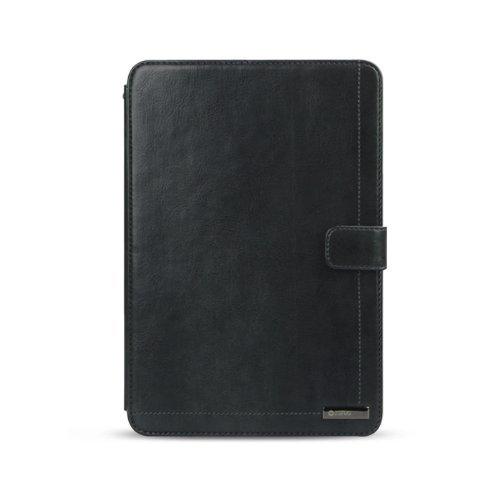 Zenus ZCIMNCWN Masstige Neo Classic Diary Leder-Klapptasche für Apple iPad mini dunkel grau