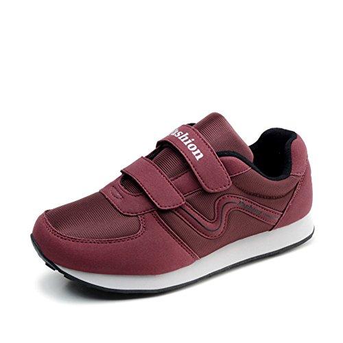 Automne marcher dans des chaussures moyens et vieux/Chaussures anti-dérapant/Formateurs/La fin de la vieille chaussure soft D