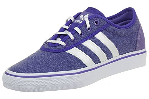 adidas Originals Adiease Womens Trainers / Shoes-Blue-7.5