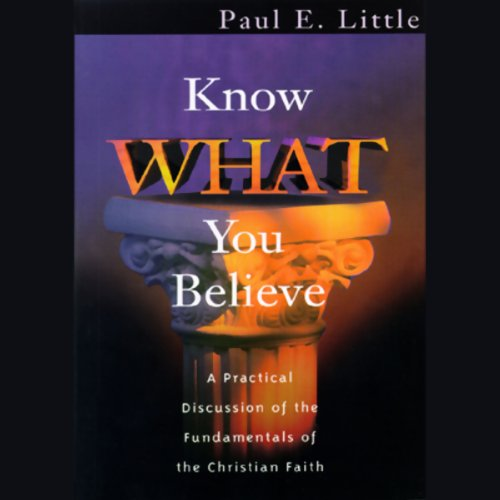 Know What You Believe  Audiolibri