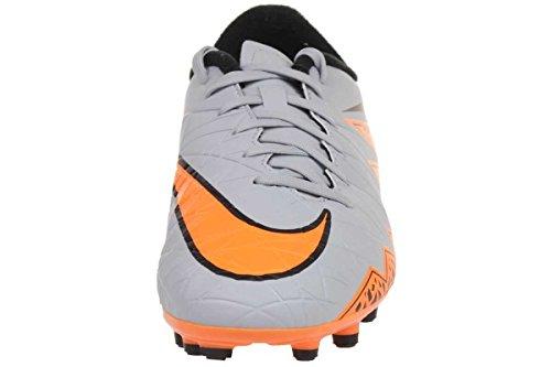 Nike Jungen Hypervenom Phelon Ii Fg Fußballschuhe WOLF GREY/TOTAL ORANGE-BLK-BLK