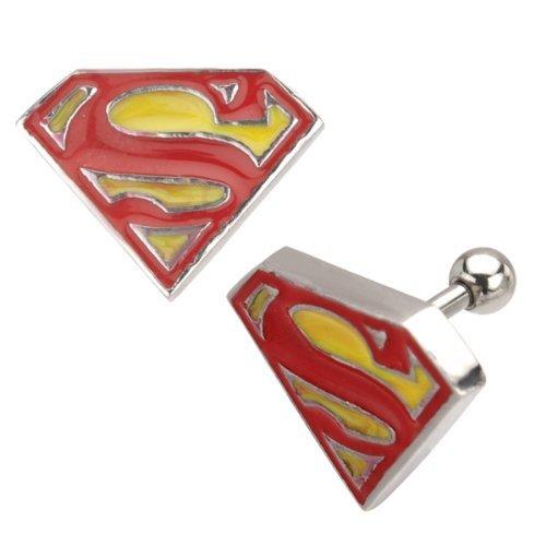 holyskinz-Piercing/orecchini-ufficiale Logo Superman