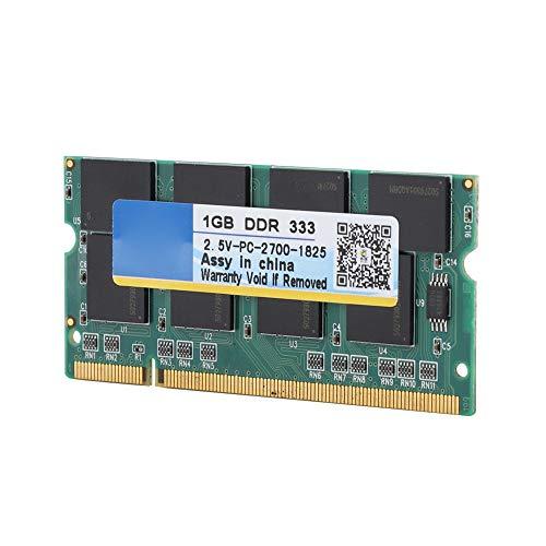 ZXIANGK Laptop-Speicher Sodimm 1GB DDR 333 für PC-2700 Notebook volle Kompatibilität für Intel/AMD