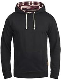 INDICODE Angus Herren Kapuzenpullover Hoodie Sweatshirt aus hochwertiger Baumwollmischung