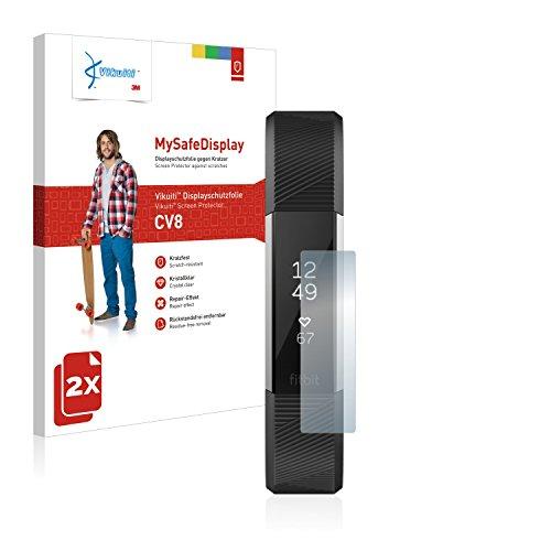 2X Displayschutzfolie CV8 von 3M kompatibel mit Fitbit Alta HR/Alta Schutzfolie Folie