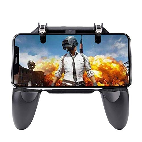 Pubg Mobile Controller, AOOK Mobile Game-Controller Sensitive Shooting and Aiming Button Grip L1R1 Shooting Controller für Android iOS System Fortnite/PUBG/Cutter/Survival Rules - Cutter System