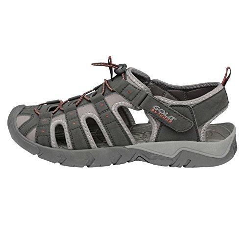 Gola, Chaussures basses pour Homme - - negro/gris/rojo