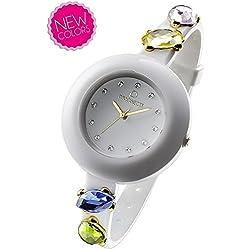 OPSOBJECTS · OPS!STONE WATCHES · Armbanduhr | Uhrarmband | Uhrband · weiß blau gold