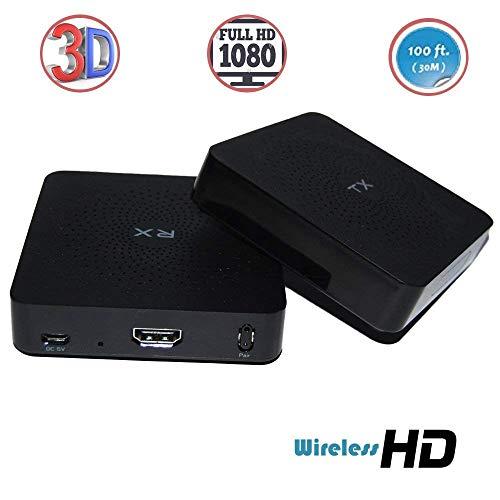 Kabelloses 1080p Computer zu HD Display Kit W2H Distanz, 30 m, kabelloser HDMI-Transmitter und Empfänger-Kit Iogear Display Kabel