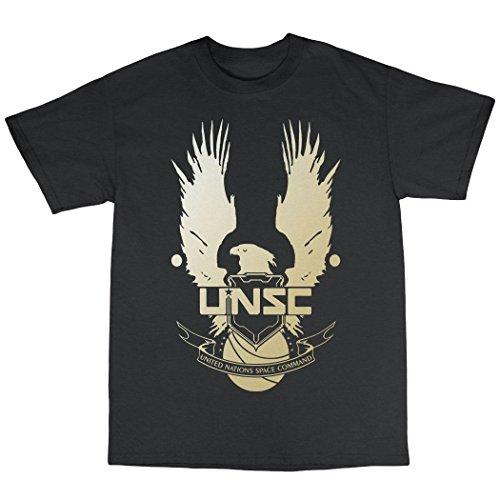 UNSC T-Shirt 100% Baumwolle Schwarz
