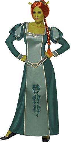 Shrek Fiona Kostüm enthält Kleid Perücke und Haarband, Large (Kostüm Ideen Für Erwachsene)