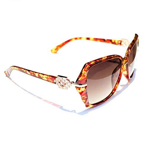 BAIF Sonnenbrillen Sonnenbrillen Sonnencreme für Frauen Langes rundes Gesicht Sonnenbrille mit großem Gesicht Anti-UVB-Polarisation