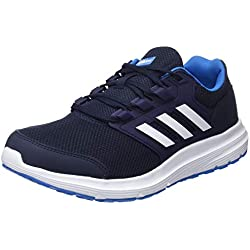 Adidas Galaxy 4 M, Scarpe da Running Uomo, Blu (Legend Ink F17/Ftwr White/Bright Blue), 44 EU