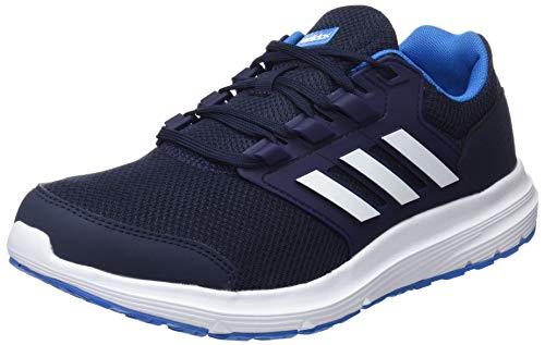 adidas Herren Galaxy 4 Laufschuhe Blau (Legend Ink F17/Ftwr White/Bright Blue) 43 1/3 EU