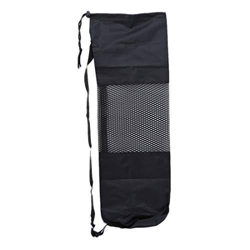 bewahrungsnetz Tasche Beruf Fitness Yoga-Matte Tasche Kinder Verstellbaren Riemen Reißverschluss schließen passt die meisten Yoga-Matten ()