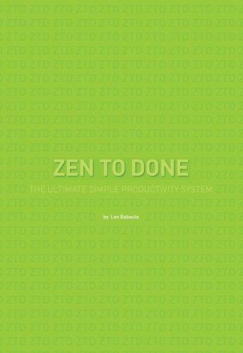 zen habits handbook for life