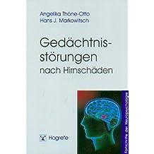 Gedächtnisstörungen nach Hirnschäden (Fortschritte der Neuropsychologie)