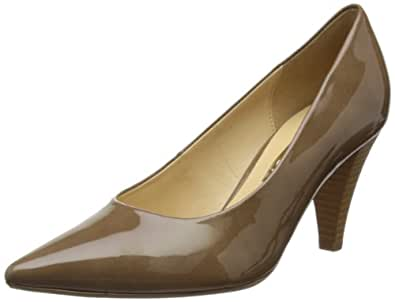 Gabor Womens Isle MP Taupe Court Shoes 71.280.72 4 UK, 37 EU