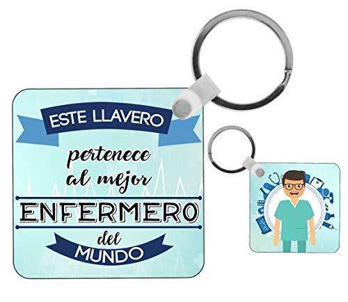 Kembilove Llavero Enfermero - Este Llavero Pertenece