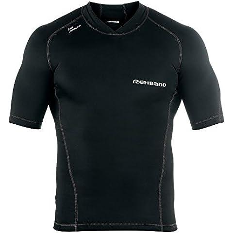 Rehband-Maglietta a maniche corte a compressione, greggio