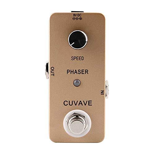 Sguan-wu Full Phase Tone Circuito analógico Stompbox True Bypass Phaser Pedal de efecto de guitarra