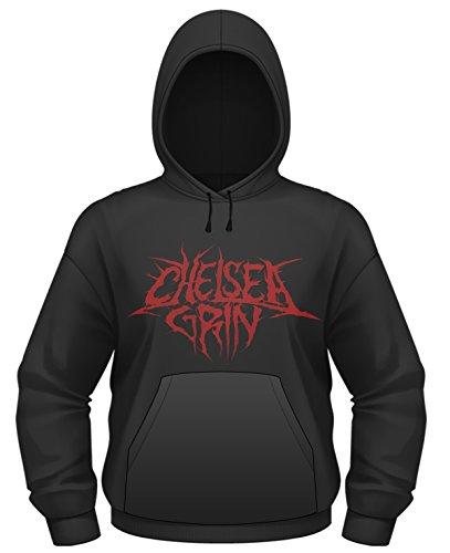 Plastichead Herren Sweatshirt Chelsea Grin Skull Bite Hsw Schwarz
