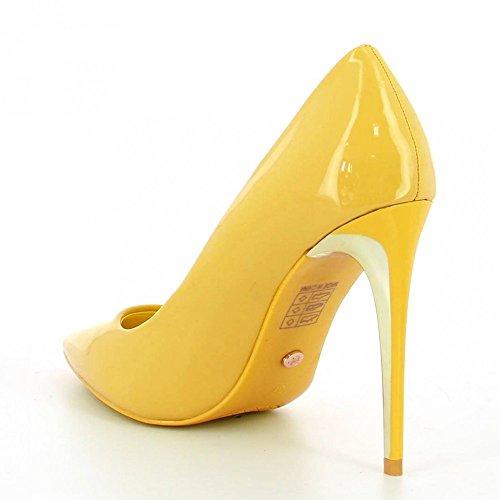 Ideal Shoes ,  Scarpe col tacco donna Giallo