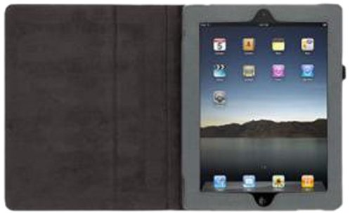 Griffin GB03832 Elan Folio Canvas Case für Apple iPad 2/3/4 Wax schwarz Griffin Elan Folio