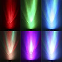 OGORI 4pcs X 4W GU10 Remote Controlled 16 Colours Changing LED RGB Light Lamp with RC Remote by OGORI