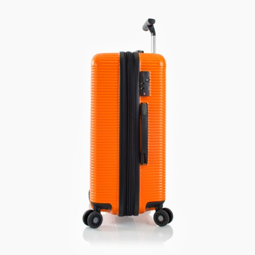 ... 50% SALE ... PREMIUM DESIGNER Hartschalen Koffer - Heys Crown Executive Shuttle Blau - Trolley mit 4 Rollen Medium Blau