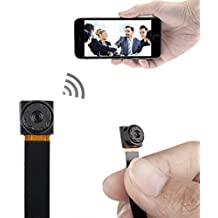 xingan Mini Súper Pequeño Portátil Cámara Espía Oculta P2P Wireless WiFi Digital Video Recorder para iOS Iphone Android Phone con mando a vista