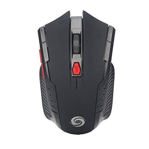 Preisvergleich Produktbild CZMY 2, 4 Ghz 6-Tasten Wireless Gaming Mouse Desktop Notebook Business Office, Black