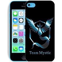 Funda carcasa pokemon go para Iphone 5c equipa mystic plastico rigido