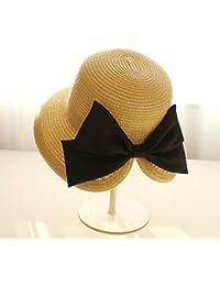 CFHJN Home Viaje de Vacaciones Baita Gran Arco sombrilla Sombreros Verano Protector  Solar Playa Sombrero Sombrero 5da10f4d5c2b