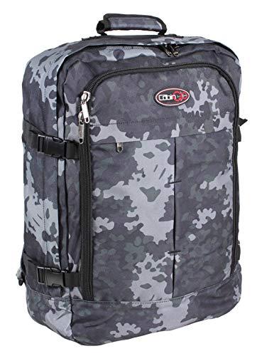 CABIN GO Zaino cod. MAX 5540 bagaglio a mano/cabina da viaggio, 55 x 40 x 20 cm, 44 litri approvato volo IATA/EasyJet/Ryanair (Mimetico)